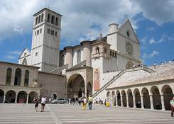 Bazylika, gdzie pochowany jest sw. Franciszek