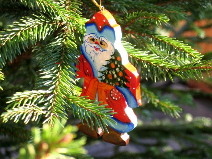 Boże Narodzenie, Święty Mikołaj, choinka