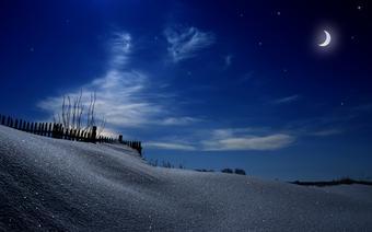 Niebo z gwiazdami