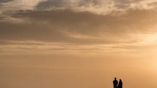 Zachód słońca nad Atlantykiem, Gran Canaria, Hiszpania