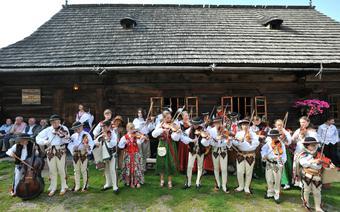 Zespół ludowy z Zakopanego