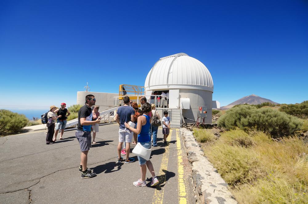 Obserwatorium astronomiczne na Teneryfie