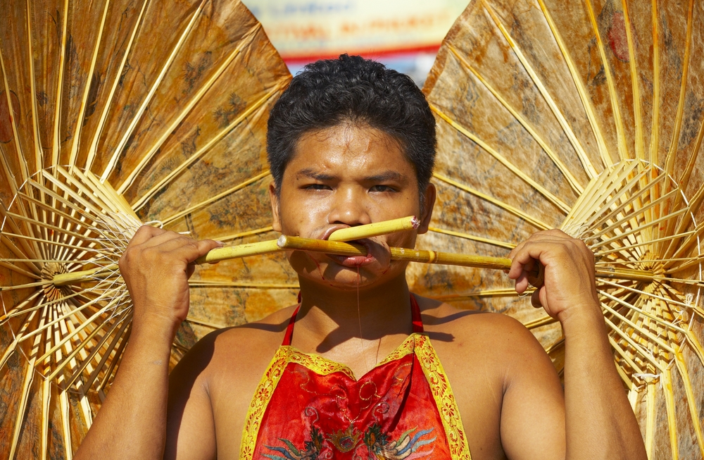 Festiwal Wegetariański na tajskiej wyspie Phuket