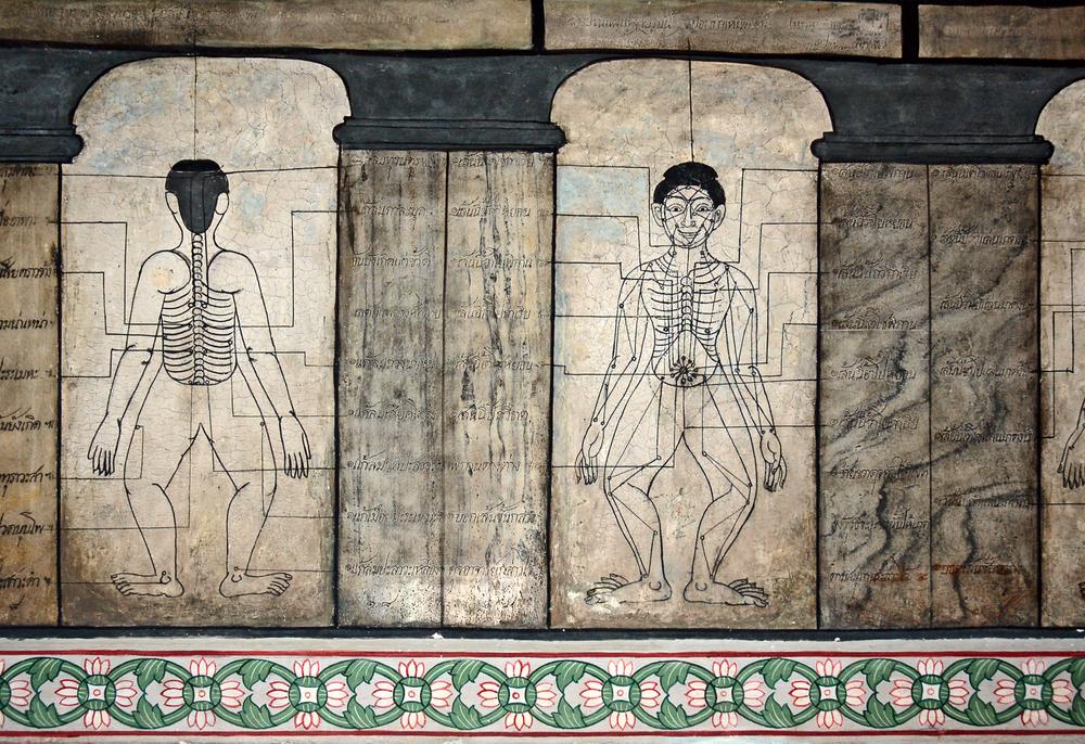 Wat Pho to również szkoła tajksiego masażu